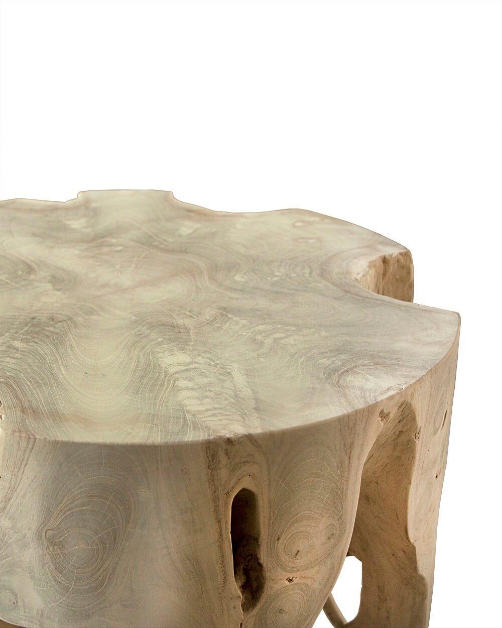 Adisa Natural Teak Root Side Table Moyo Living
